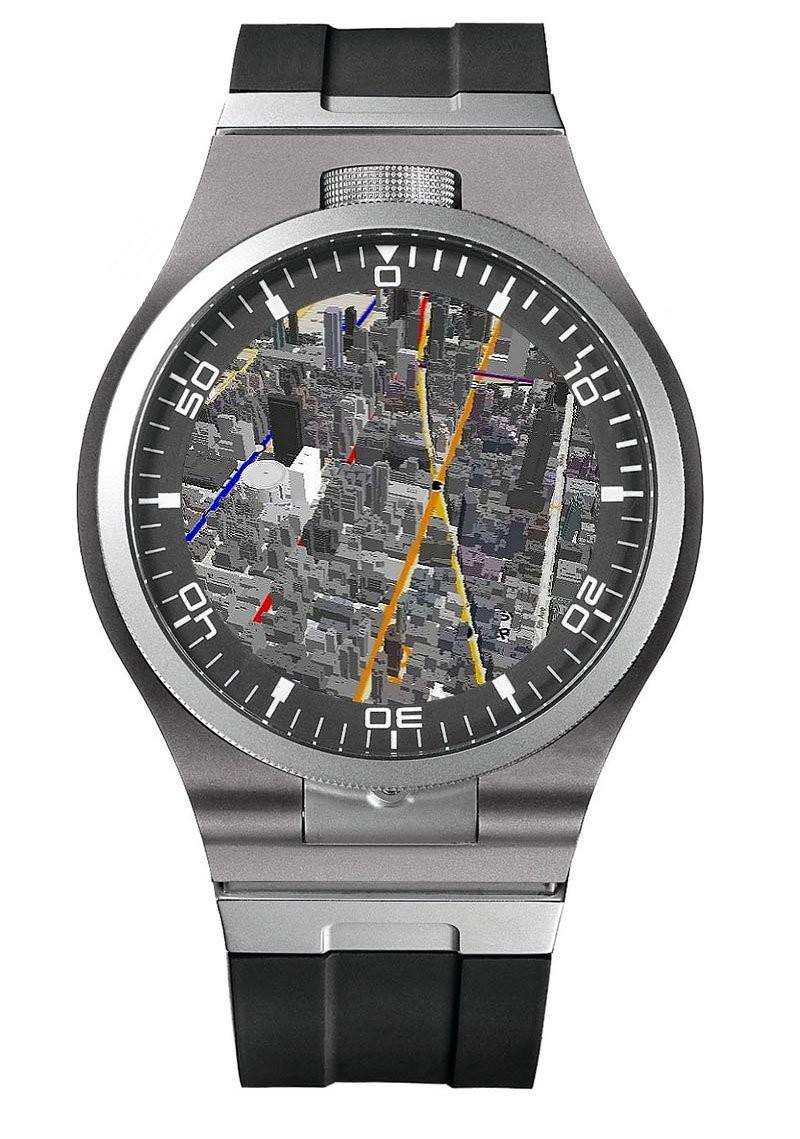 → iRaiment Smartwatch Cybergraph Cyberdiver Design