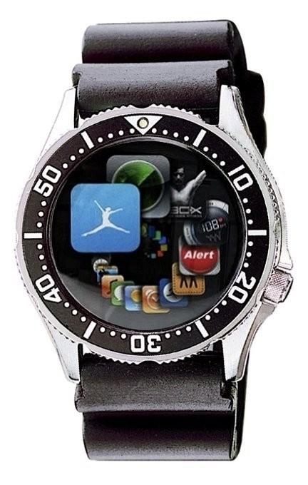 → iRaiment Smartwatch Cybermaster Design